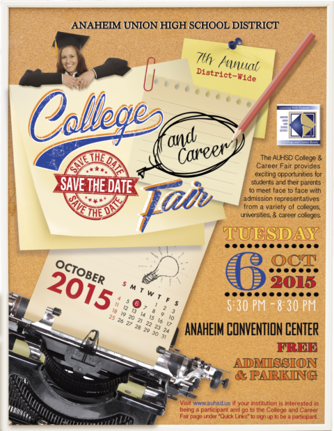 College Fair 2015-Save the Date